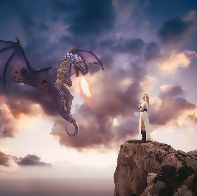 dragon girl. Creative Children's Photography fantasy photoshoot, Dream Alice Photography & Art, Gold Coast