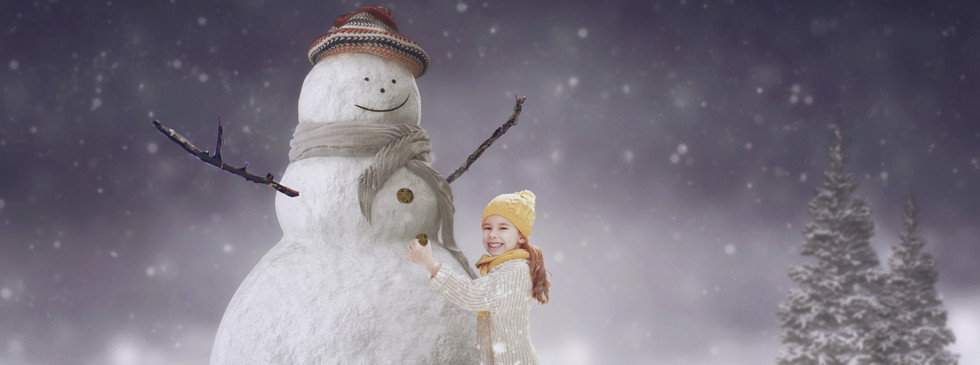 Xmas Snowman. Christmas Children's Photography fantasy photoshoot, Dream Alice Photography & Art, Gold Coast