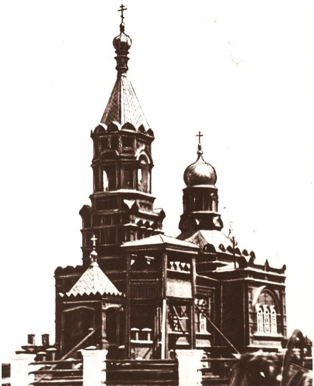 Фотография из архива Д.П. Багаева. 1928 год.