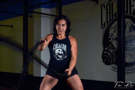 Clases de Box,  battling ropes Calavera fitness center Tlalnepantla