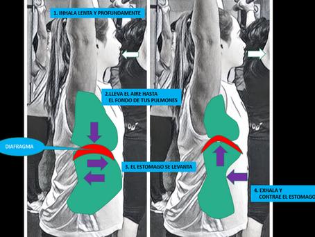 La respiración adecuada durante el ejercicio