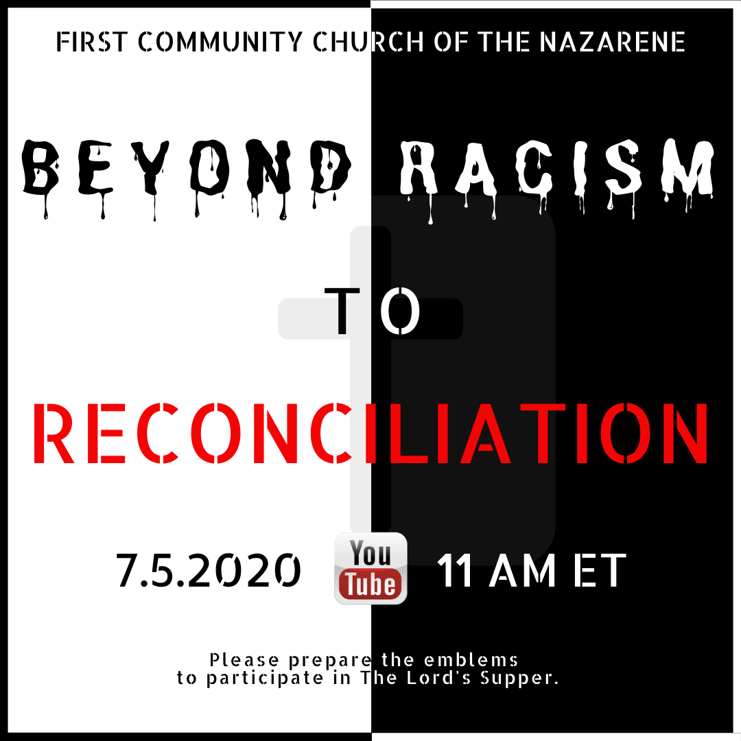 View Sermon on Racism Here