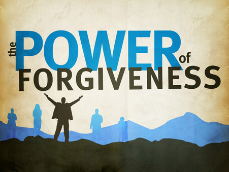 Why Forgiveness is Good for You