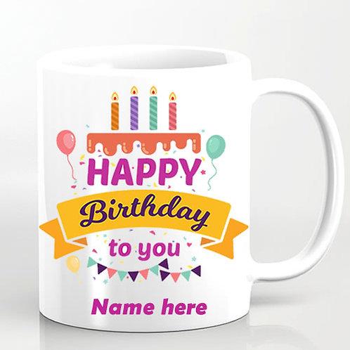Happy birthhday mug