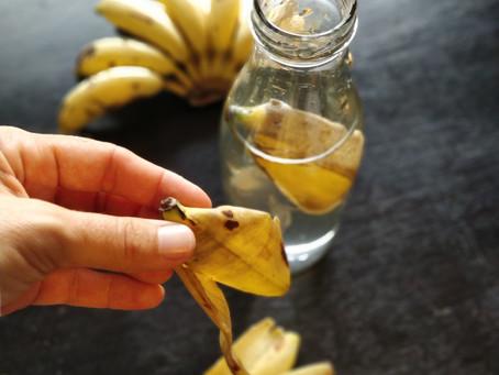 Comment réutiliser ses peaux de bananes 🍌