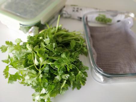 Conserver ses herbes & salades plus longtemps 🌿
