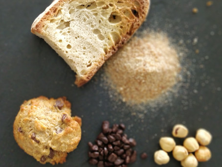 Cookies moelleux anti-gaspi au pain