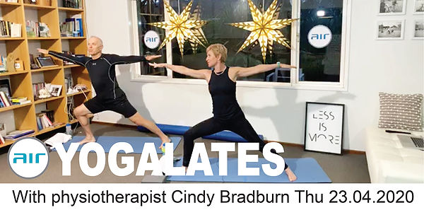 Yogalates Cindy & jacques Thu 23.04.2020