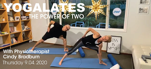 Yogalates Power of two class Cindy & Jac