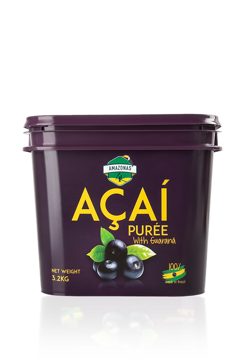 Açaí Puree with guaranà