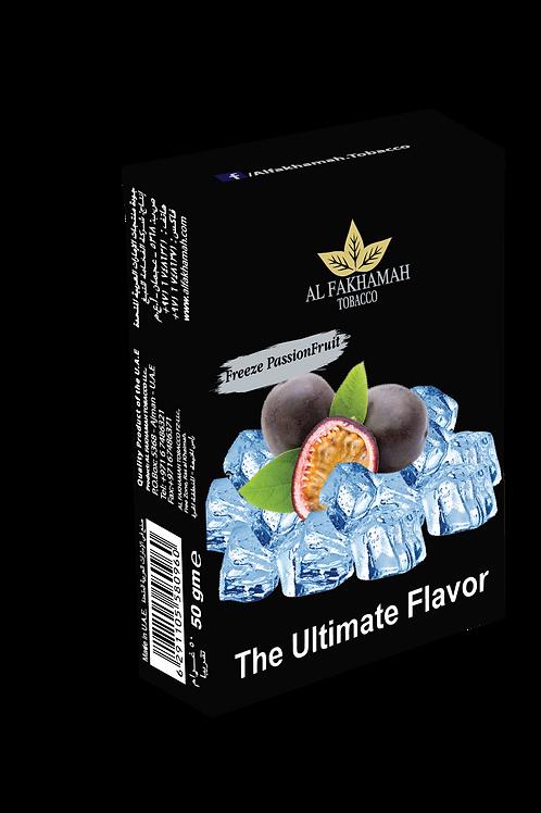 Freeze passion fruit