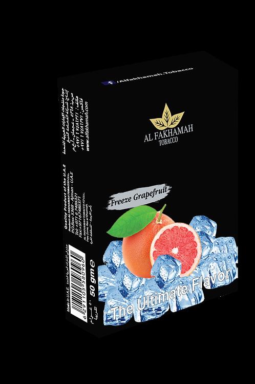 Freeze grapefruit