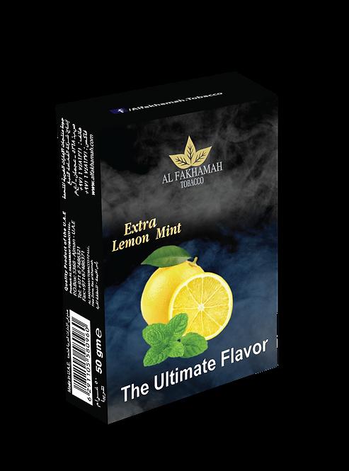 Extra lemon mint