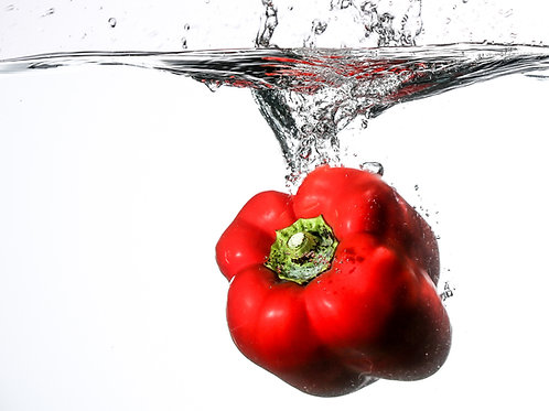 "Red pepper splash I - 8x10"" print"