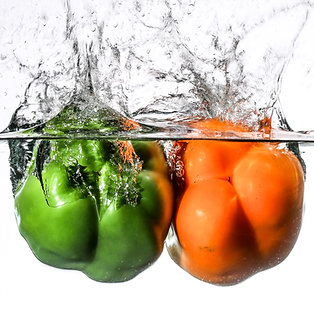 Two peppers III - print 8x10""
