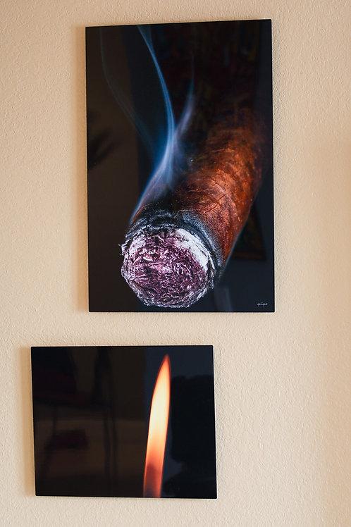 Double Play - Tobacco III  - Two metal prints