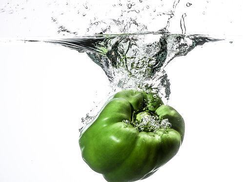 """Green pepper II - 8x10"""" print"""
