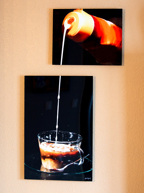 Double Play - American Coffee - Two metal prints