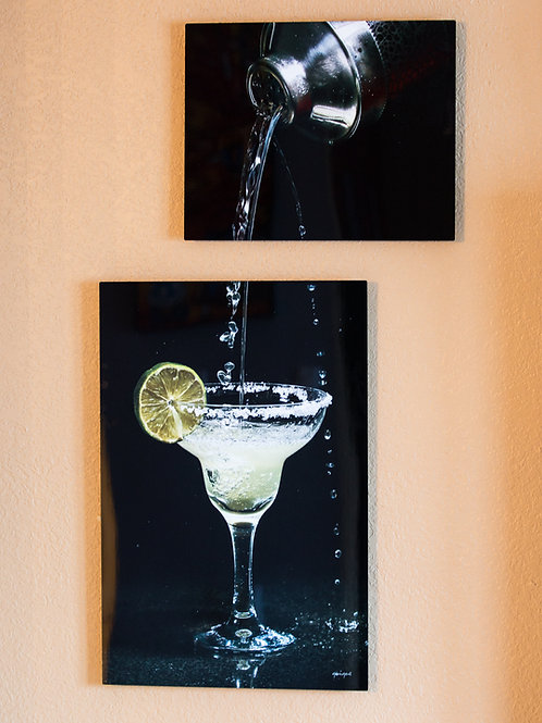Double Play - Margarita - Two metal prints
