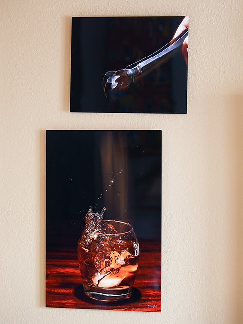 Double Play - Whiskey - Two metal prints