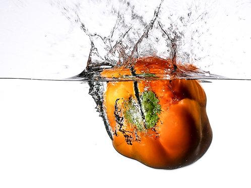 "Orange pepper I - print 8x10"""