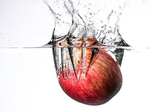 """Apple splash I - 8x10"""" print"""