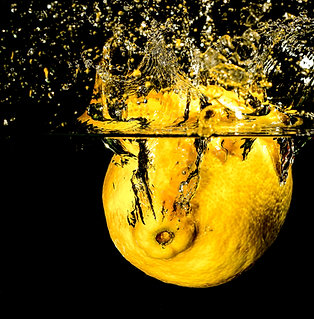 "Lemon splash - 8x10"" print"
