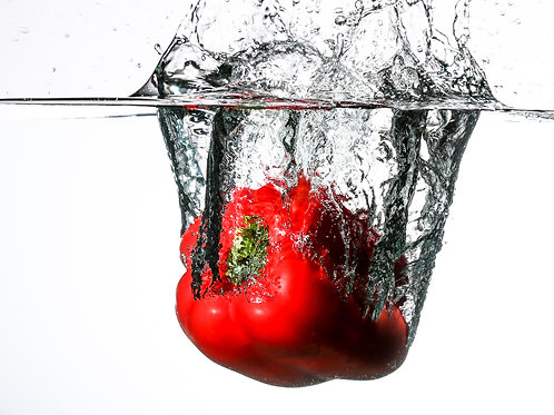 "Red pepper splash IV - 8x10"" print"