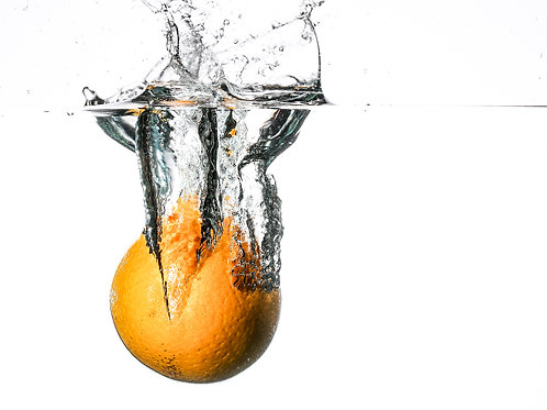 Orange splash I - print 8x10""