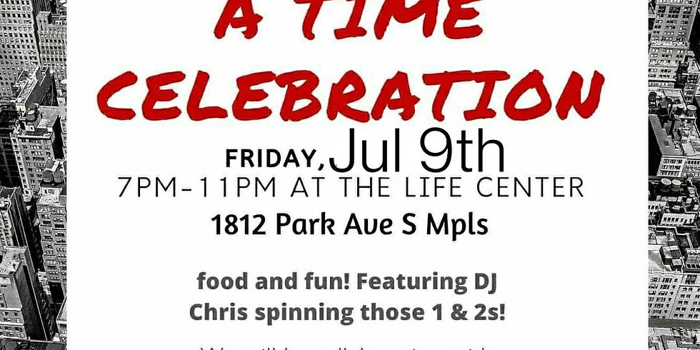 One Life at a time Sober Speaker Jam and dance party!!!