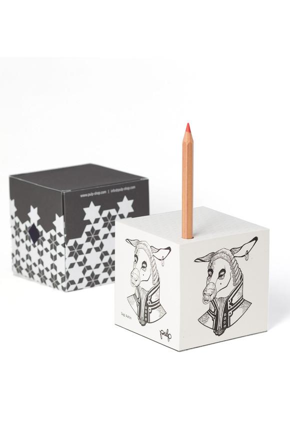 papaer cube donkey.jpg