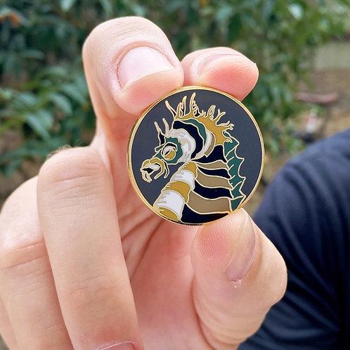 Sea Horse Enamel Pin