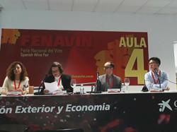 Wine talk at Fenavin Congress