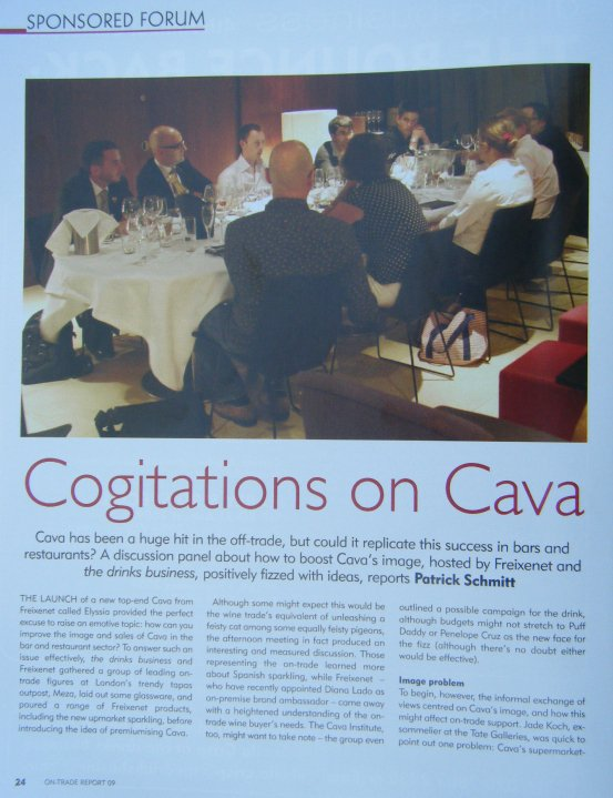 Cava Talk (The Drink Business Magazine)