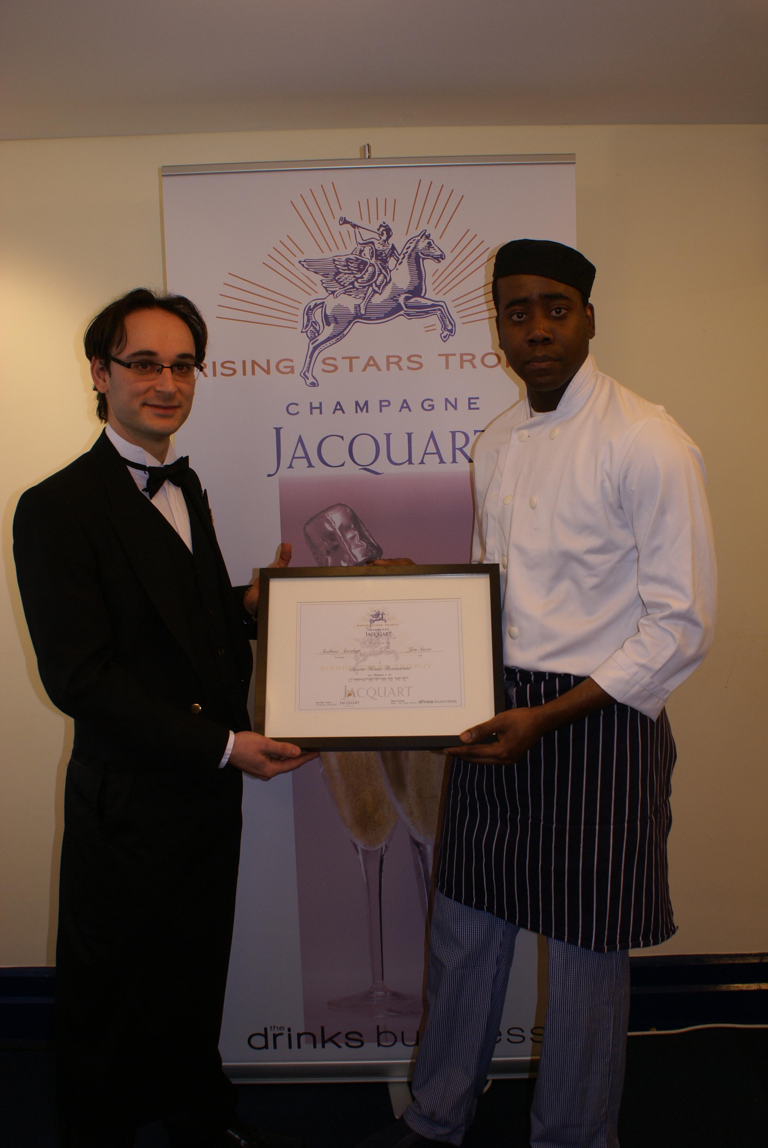 Foto premio Champagne Jacquart