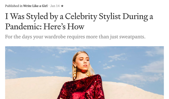 I Was Styled by a Celebrity Stylist During a Pandemic: Here's How