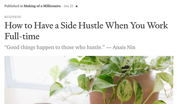 How to Have a Side Hustle When You Work Full-Time
