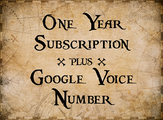 'Deep Six for Google Voice' - (1 year unlimited use)