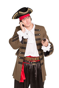 Dial me: Classic Jolly Roger