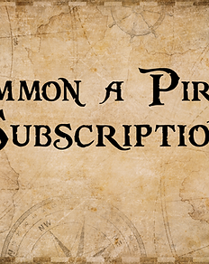 'Summon a Pirate' - Best subscription for mobile phones! (200 mins)