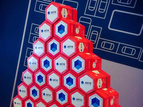 Artik IoT packaging for Samsung