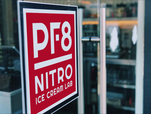 PF8 store sign