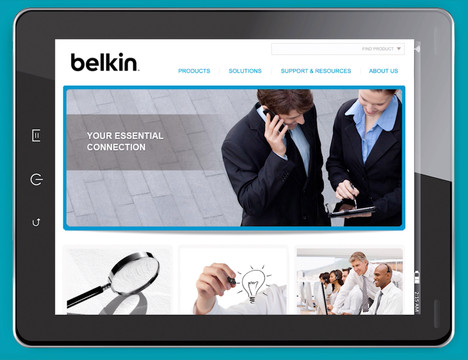 Belkin Website
