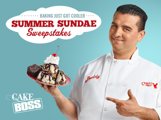 CakeBoss social media sweepstakes