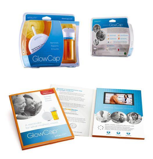 GlowCap package & marketing