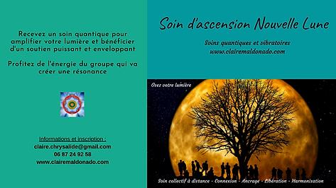 Soin à distance Nouvelle Lune