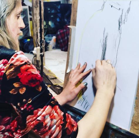 Louise Thomas drawing