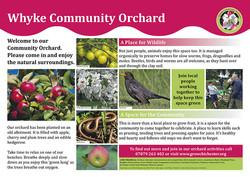 Whyke Orchard panel
