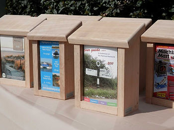Oak Leaflet Holders