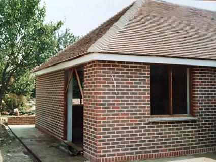 Brick annex